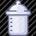 baby, bottle, milk icon
