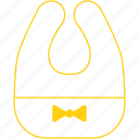 bib, cute, infant, newborn, toddler icon
