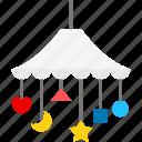 child, kid, mobile, toy icon