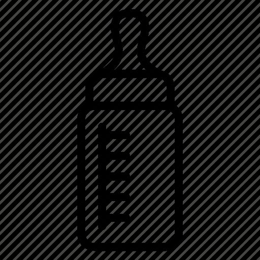 baby, bottle, drink, milk bottle, water icon