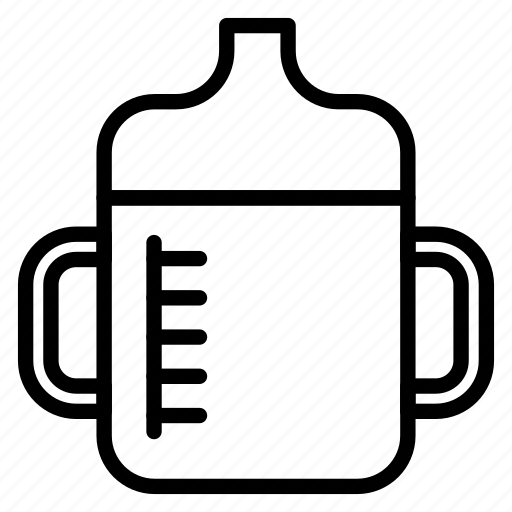 baby, bottle, child, cup, drink, training cup icon
