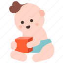 development, baby, play, kid, child, learn, toy icon