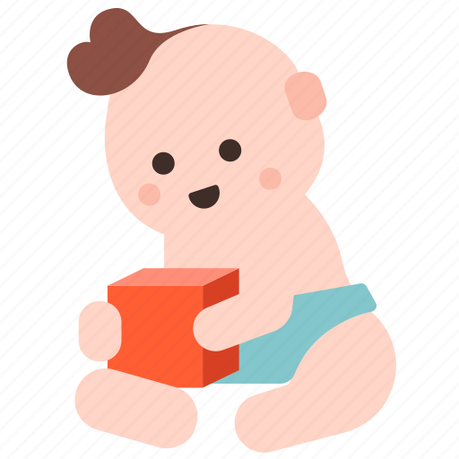 baby, child, development, kid, learn, play, toy icon