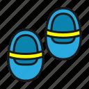 baby, child, kids, sandals