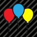 balloon, balloons, celebration, party