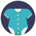 baby clothes, baby dress, baby shirt, kids wear, onesie icon