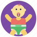 baby, baby boy, child, kid, neonate icon