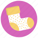 baby socks, clothes, footwear, green socks, stockings icon