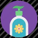 bath accessory, hygiene, liquid soap, soap dispenser, toiletries icon