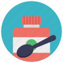 food for brain, food supplement, multivitamins, nutritional diet, vitamins and minerals icon