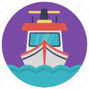 playtime, ship, toy boat, toy ship, model ship icon