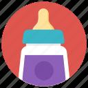 baby bottle, feeder, feeding bottle, nipple, plastic bottle icon