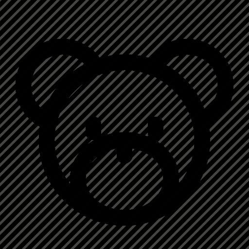 bear, kids, teddy, toy icon