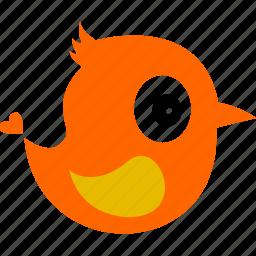 animal, bird, cartoon, fauna icon