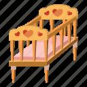 baby, bed, cartoon, child, childhood, children, furniture