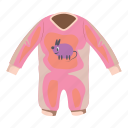 baby, cartoon, child, cloth, clothing, newborn, romper icon