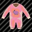 baby, cartoon, child, cloth, clothing, newborn, romper