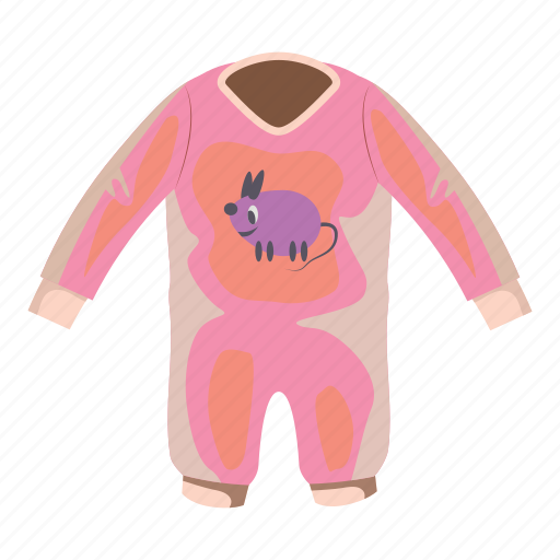 baby, cartoon, child, cloth, clothing, newborn, romper icon