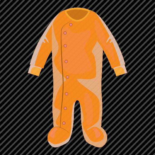 baby, cartoon, child, cloth, clothing, jumpsuit, newborn icon
