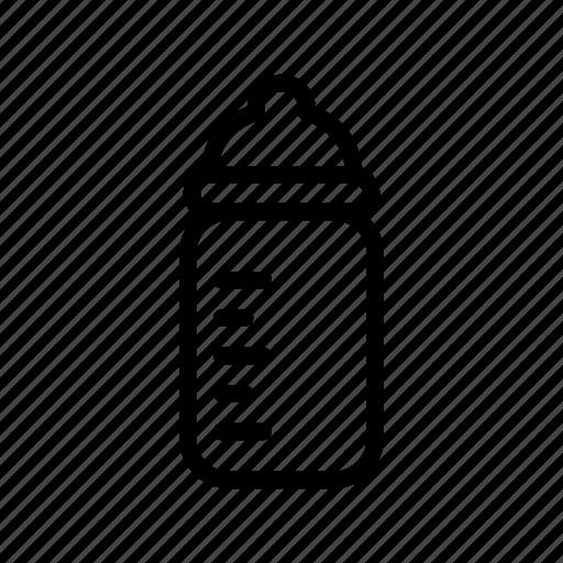 baby, bottle, child, milk, nipple, suck, sucking icon