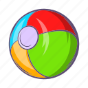 ball, cartoon, color, game, play, sphere, toy icon