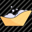 baby, bath, cleaning, newborn icon