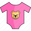apparel, baby, clothe, girl icon