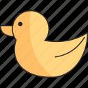 animal, bath, bird, duck icon