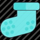 baby, boy, socks icon