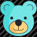 bear, boy, teddy icon