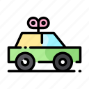 baby, car, child, cute, kid, toy icon