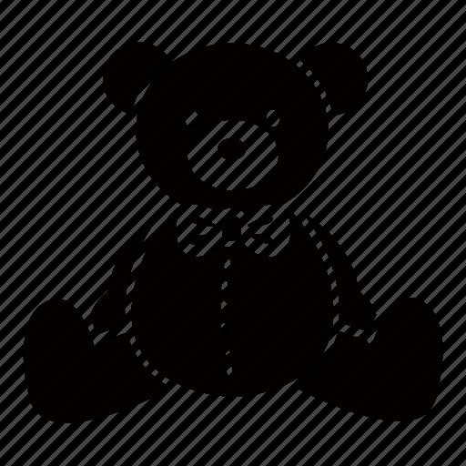 baby, bear, infant, soft, stuffed, teddy, toy icon