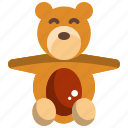 baby, kid, bear, doll, toddler
