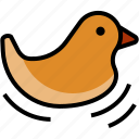 baby, bath, duck, kid, toddler, toy icon