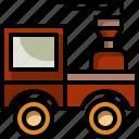 baby, kid, toddler, toy, train icon