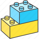 baby, blocks, child, duplo, kids, lego, toy icon