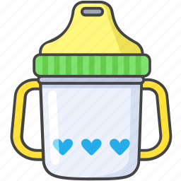 baby, cup, drink, juice, sipper, sippy, toddler icon