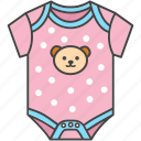baby, child, clothes, infant, jumpsuit, onesie icon