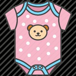 baby, child, clothes, infant, jumpsuit, onesie icon