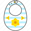 baby, bib, child, infant, toddler icon
