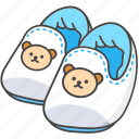 baby, child, clothes, infant, shoes, slippers icon