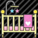baby, bassinet, bed, crib, newborn, toddler