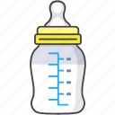 baby, bottle, child, milk, newborn icon