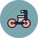 baby, kids, small, toy, tricycle icon