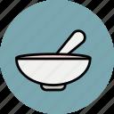 baby, bowl, food, soup, spoon, breakfast