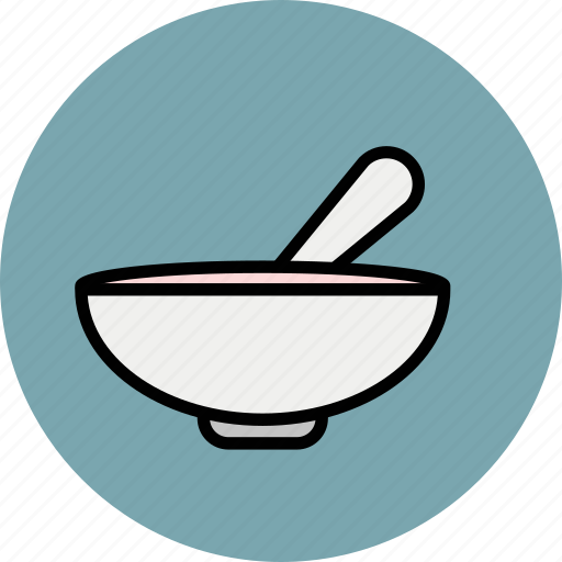 baby, bowl, breakfast, food, soup, spoon icon