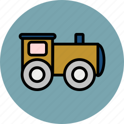 baby, cute, small, toy, train, vehicle icon