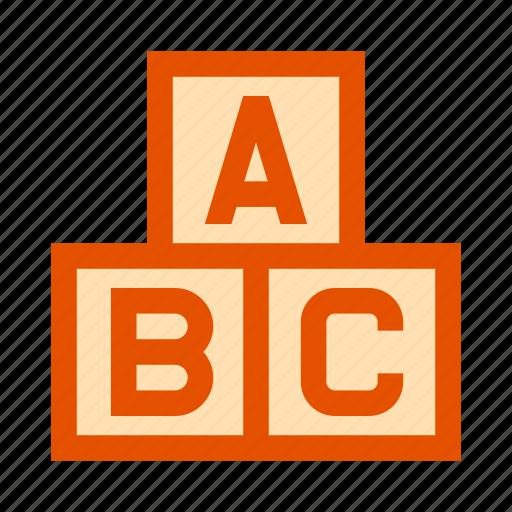 Abc, baby, blocks, child, cubes, newborn, toy icon - Download on Iconfinder