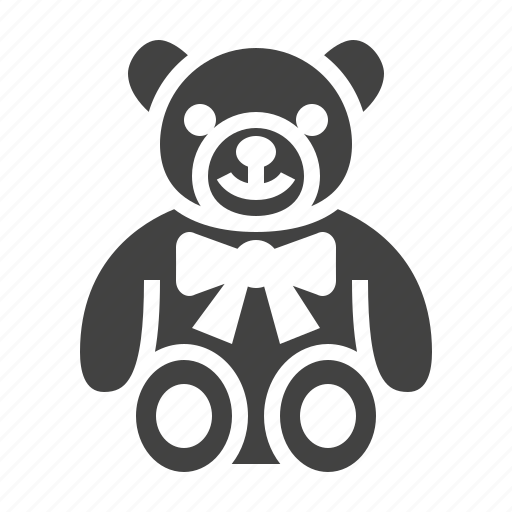 Baby, bear, soft, teddy, toy icon - Download on Iconfinder