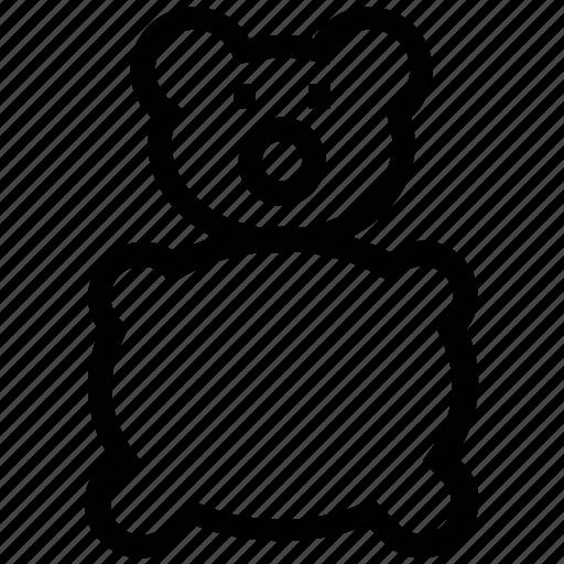baby bear, baby teddy bear, bear, infant bear, kid bear, stuffed toy, teddy bear icon